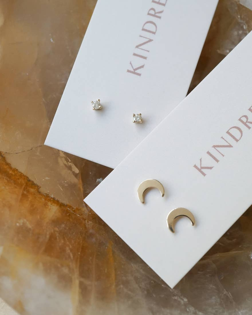 MINI DIAMOND STUDS - PERSU COLLECTION