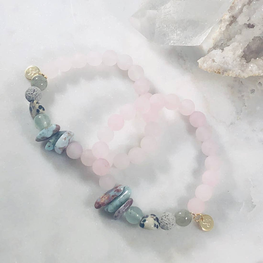 Follow Your Heart Stacking Bracelet (Diffuser)