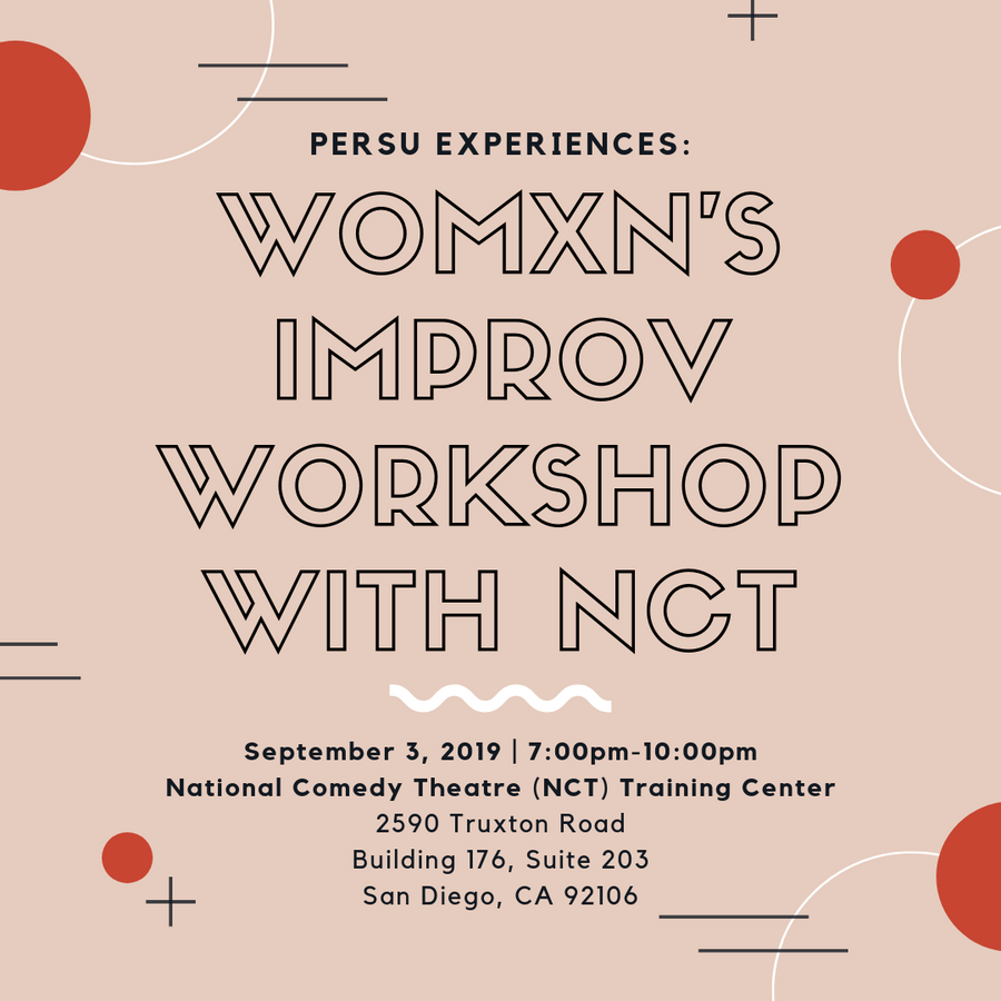WOMXN'S IMPROV WORKSHOP WITH NCT: INCREASE YOUR COLLABORATIVE, CREATIVE, AND DECISION-MAKING SKILLS THROUGH THE ART OF IMPROV - PERSUCOLLECTION functional men and women's duffle bag, gym bag, travel bag all-in-one! The only washable interior gym bag.
