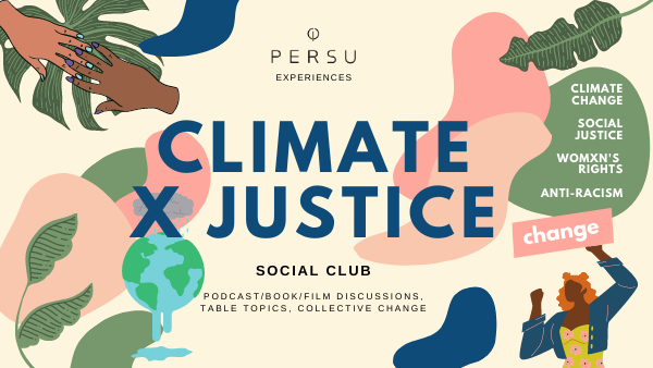Climate x Justice Social Club - PERSUCOLLECTION functional men and women's duffle bag, gym bag, travel bag all-in-one! The only washable interior gym bag.