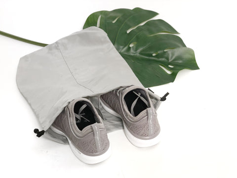 NYLON DRAWSTRING SHOE BAG