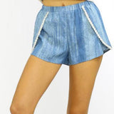 Tassse Denim Short