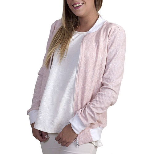 Pink Love Bomber Jacket
