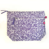 Purple Floral Pouches by SacDeco