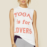 Yoga Is For Lovers Tee
