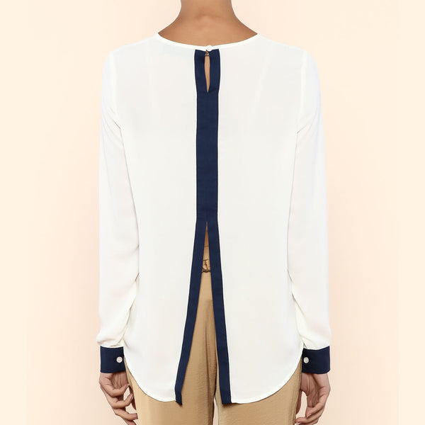 Angelina Contrast Blouse