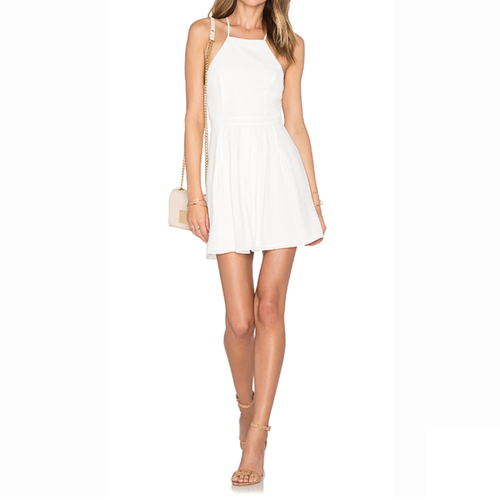 Forget me not white dress