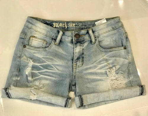 Claudia Denim Shorts