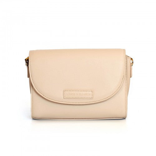 Perry Crossbody Ivory Bag