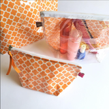 Orange Pouches by SacDeco
