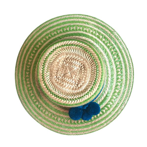 Green Wayuu Hat