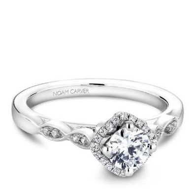 Noam Carver White Gold Engagement Ring