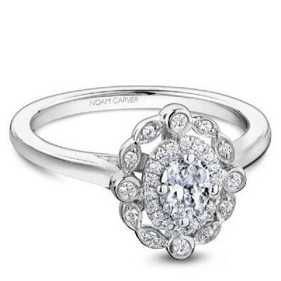Noam Carver Studio Oval Engagement Ring