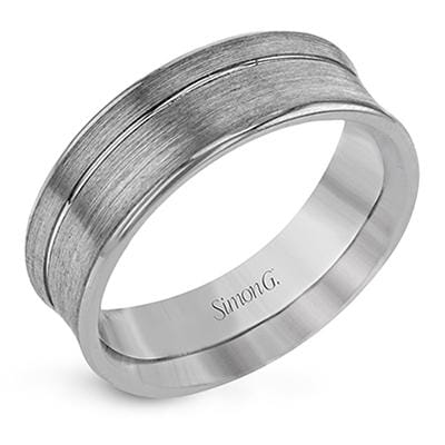 Men's Simon G Wedding Band