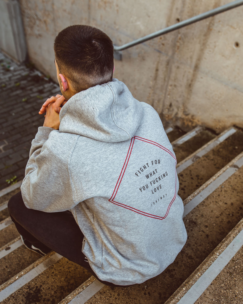 Fighters Hoodie - Grey