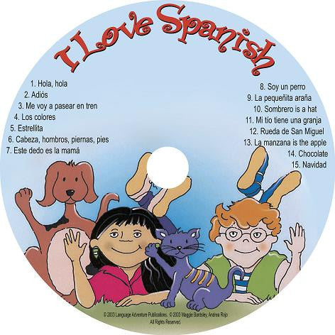 I Love Spanish – CD