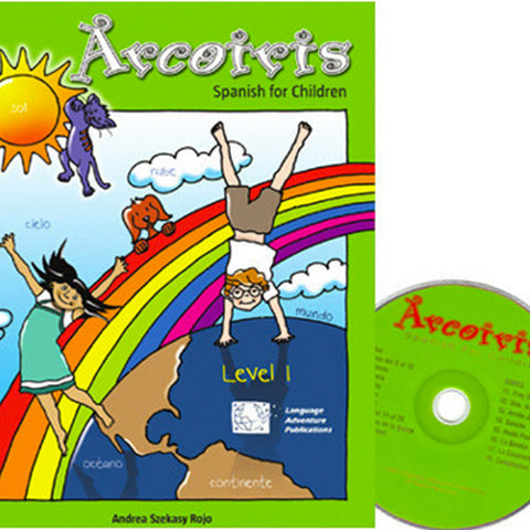Arcoiris Level 1 – Spanish Workbook & Audio CD
