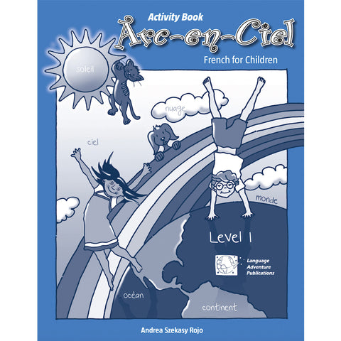 Arc-en-Ciel French Activity Book