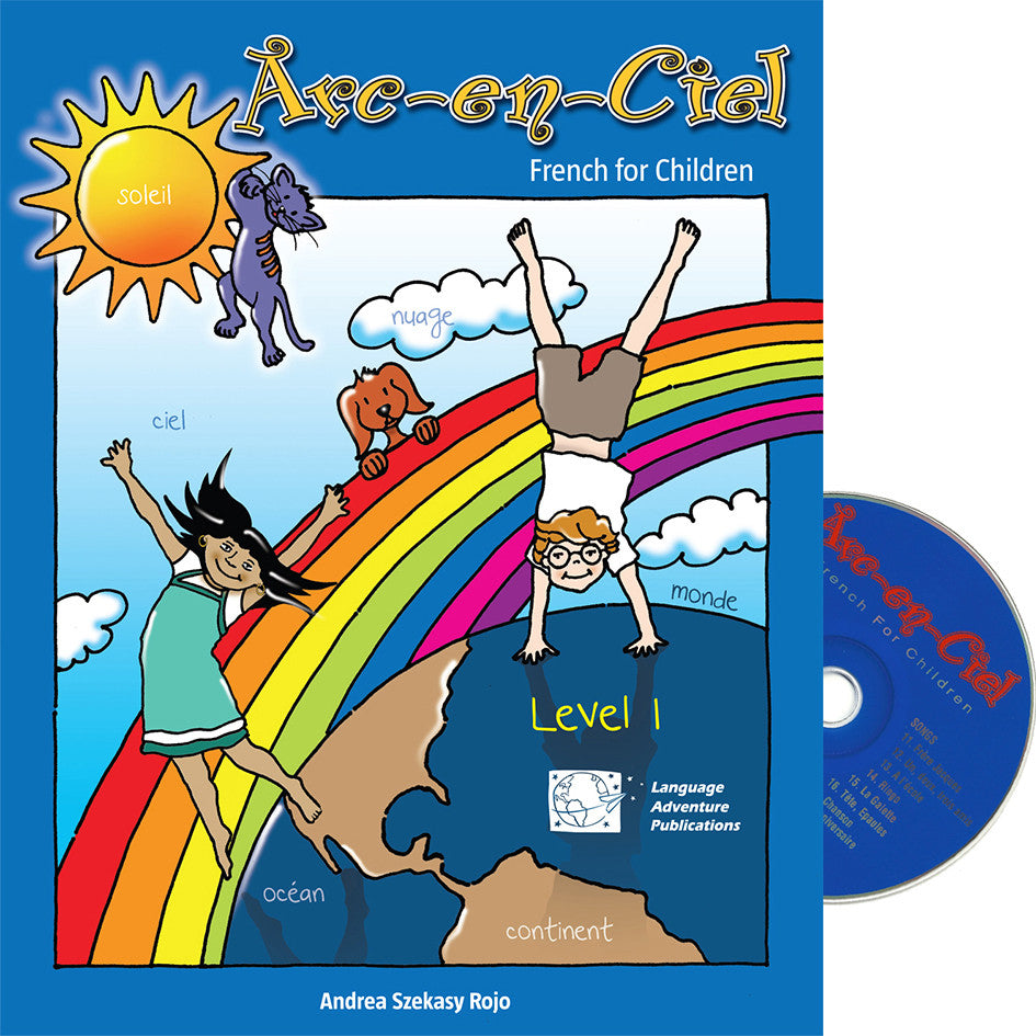 Arc-en-Ciel French Workbook & Audio CD