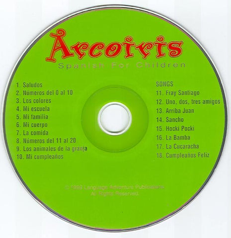 Arcoiris Level 1 Spanish-CD only