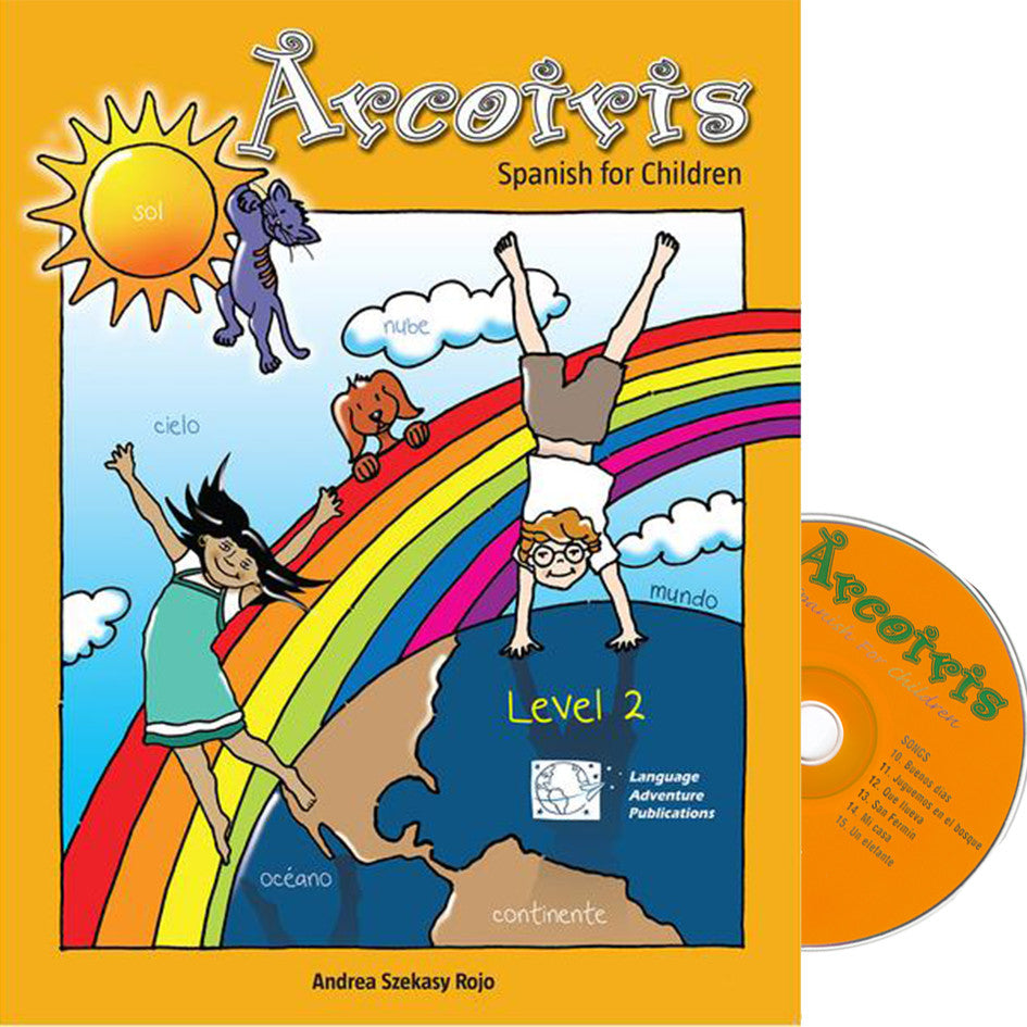 Arcoiris Level 2 – Spanish Workbook & Audio CD