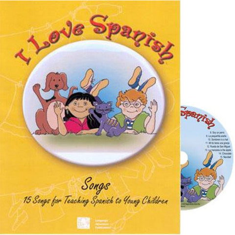 I Love Spanish – Songs & CD