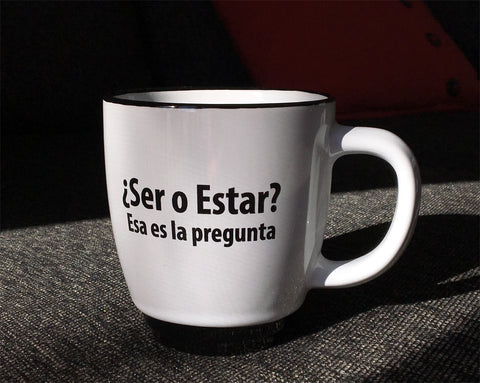 ¿Ser o Estar? Coffee mug