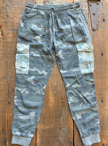 The Glendale Camo Joggers