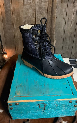Pendleton Duck Boot - Black