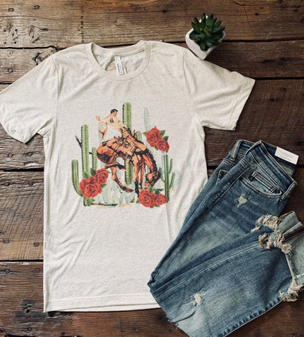 The Wild Roses Tee