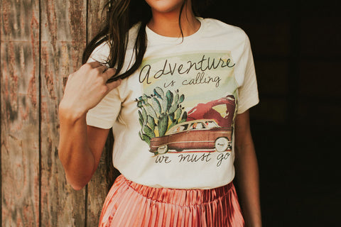 The Adventure Is Calling Tee