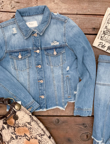 The Keystone Denim Jacket