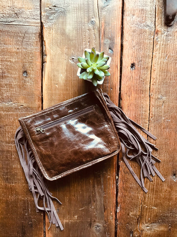 The Aledo Purse - Brown