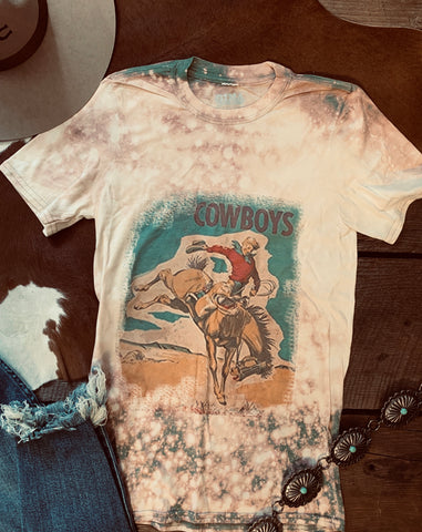 The Bleached Cowboy Tee