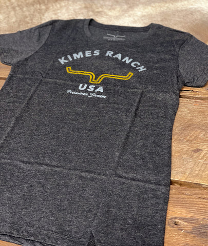 Kimes Ranch - Ladies Arch Tee - Vintage Black