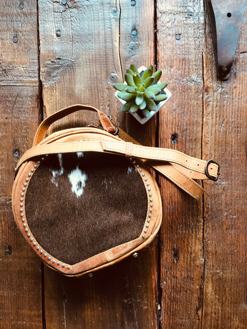 The Alvarado Round Purse