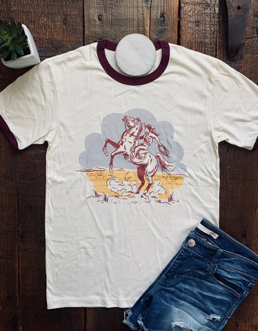 The Retro Cowgirl Tee