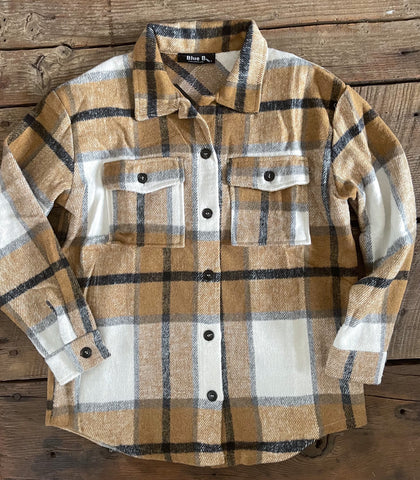 The Plaid Shacket Large