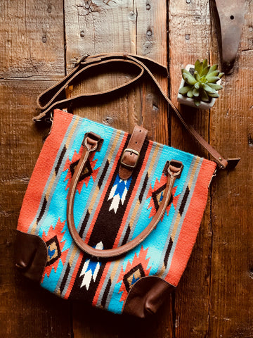 The Alton Saddleblanket Purse