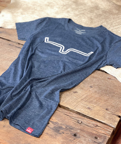 Kimes Ranch Outlier Tee - Vintage Navy