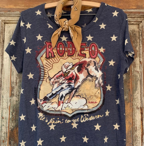 The Star Steer Wrestler Tee
