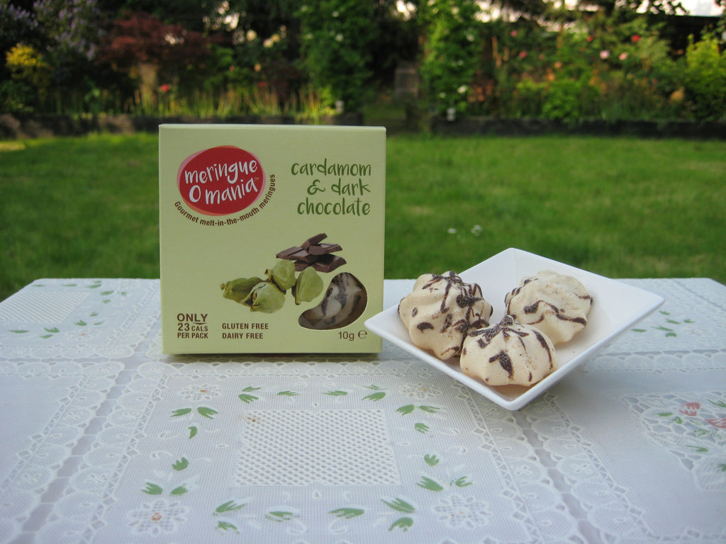Cardamom & Dark Chocolate Gourmet Bitesize Meringues - Small Box