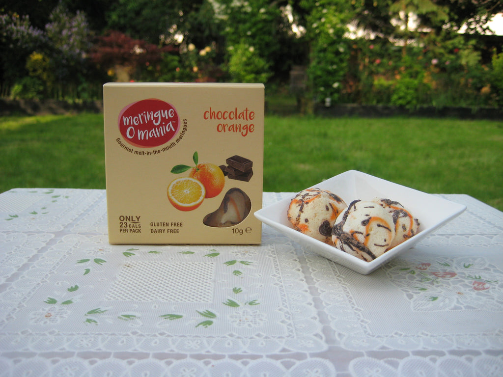 Chocolate Orange Gourmet Bitesize Meringues - Small Box
