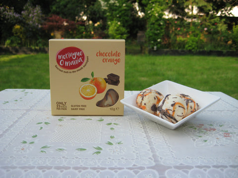Chocolate Orange Gourmet Bitesize Meringues - Great Taste 2020 1 star award - Small Box