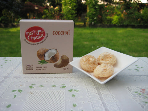 Coconut Gourmet Bitesize Meringues - Great Taste 2018 2 Star Award - Small Box