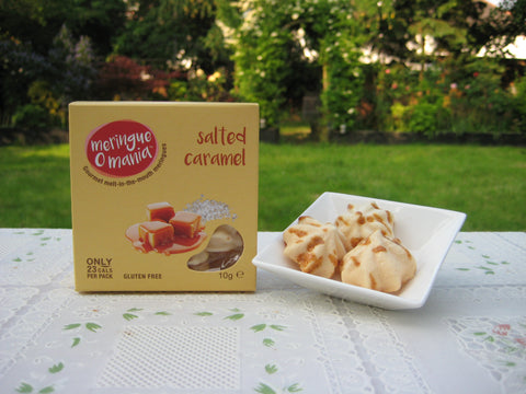 Salted Caramel Gourmet Bitesize Meringues - Small Box