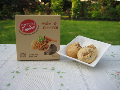 Walnut & Cinnamon Gourmet Bitesize Meringues - Small Box