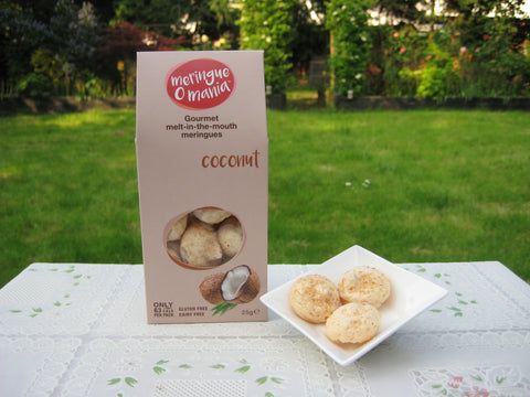 Coconut Gourmet Bitesize Meringues - Large Box