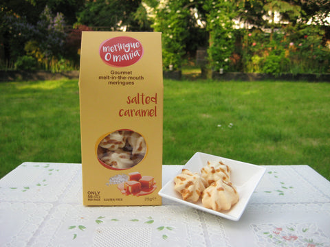 Salted Caramel Gourmet Bitesize Meringues - Large Box