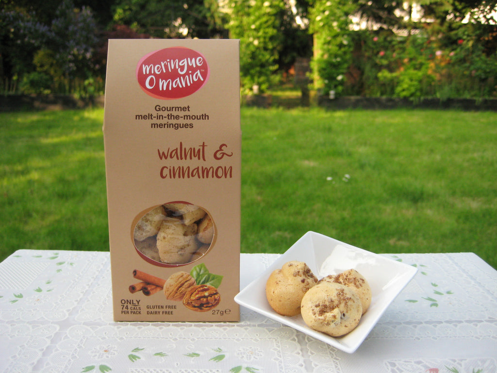 Walnut & Cinnamon Gourmet Bitesize Meringues - Large Box